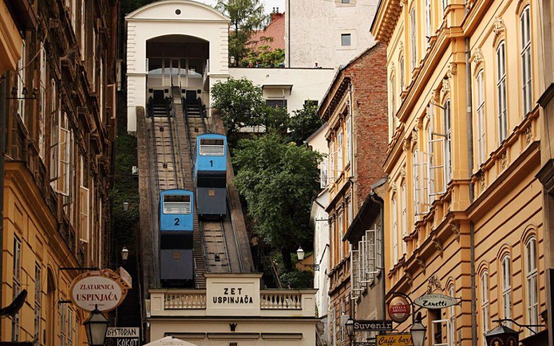 Zagrebačke vedute – Uspinjača